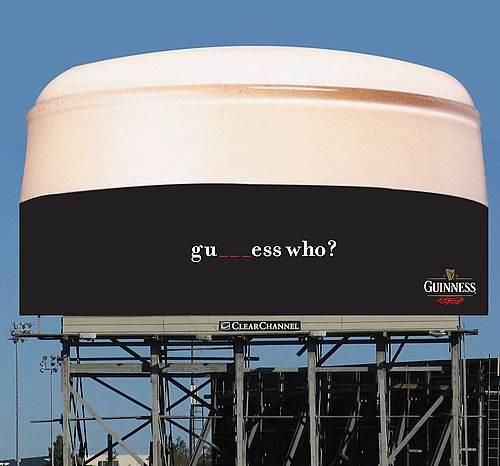 gu___ess who? Oczywiście, że Guinness! To było proste!